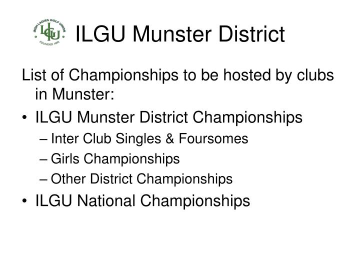 Ilgu munster district1