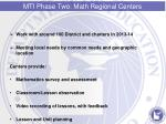 mti phase two math regional centers1