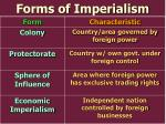 forms of imperialism