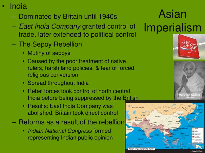 Asian Imperialism