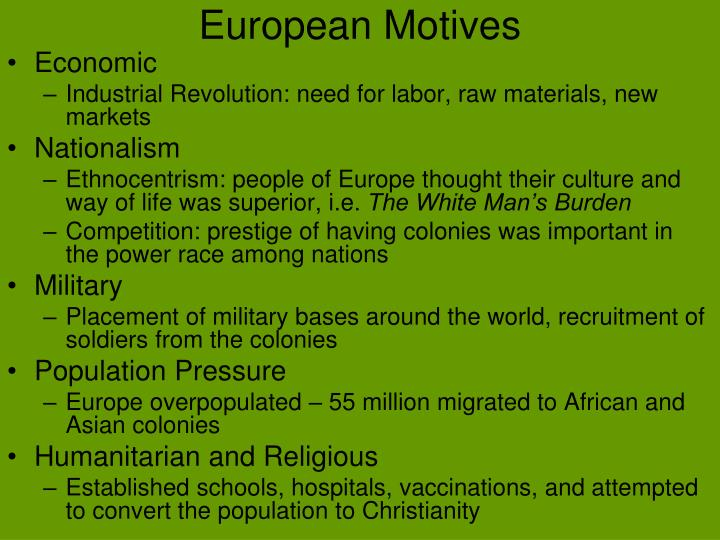 European motives