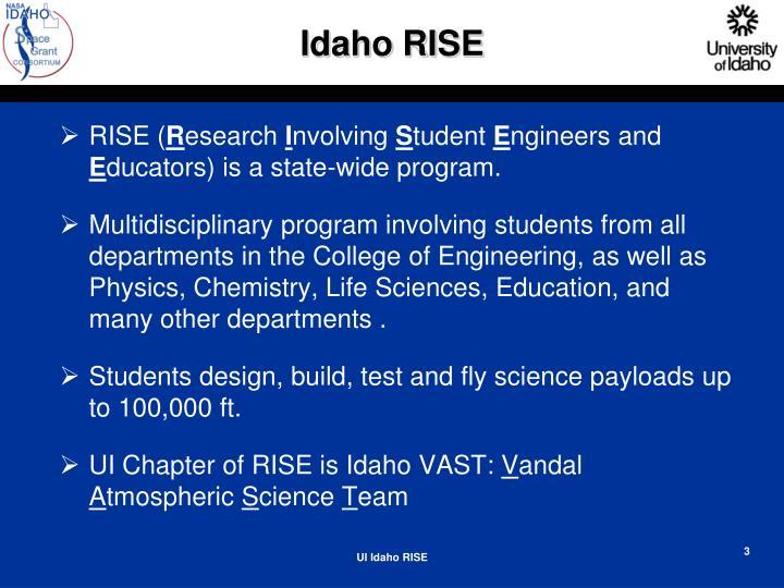 Idaho RISE