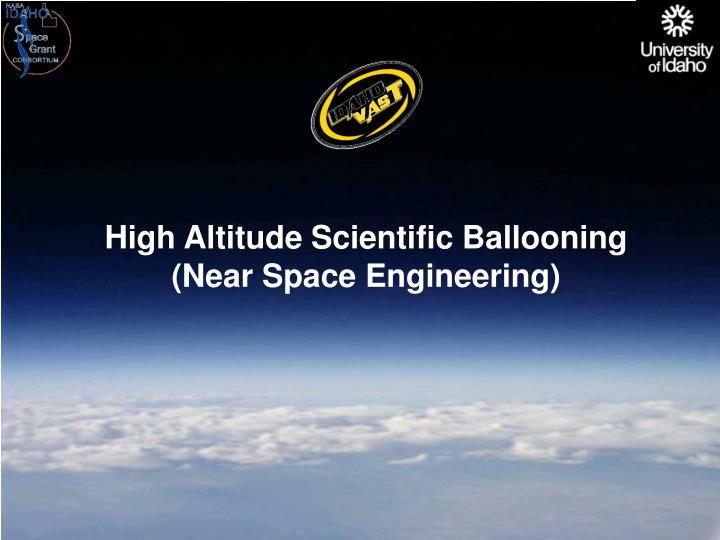 High Altitude Scientific Ballooning