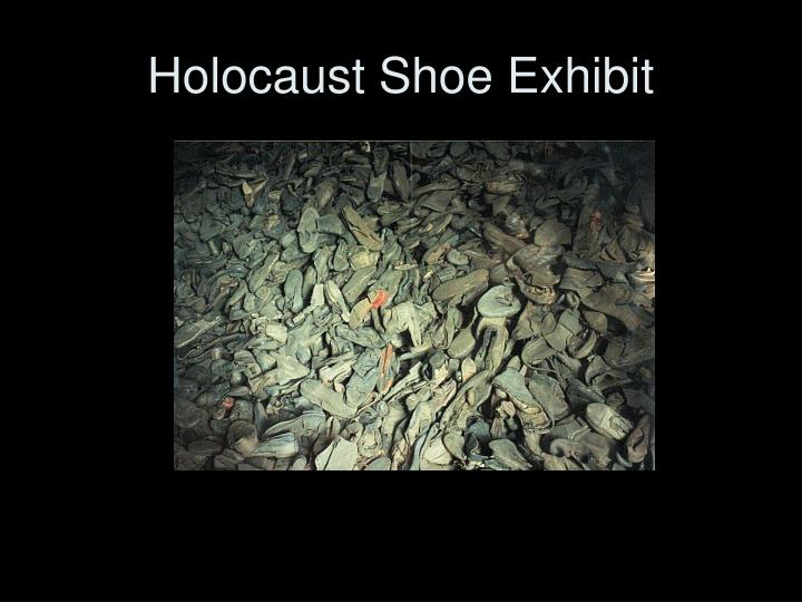 Holocaust Shoe Exhibit