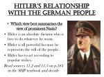 hitler s relationship with the german people