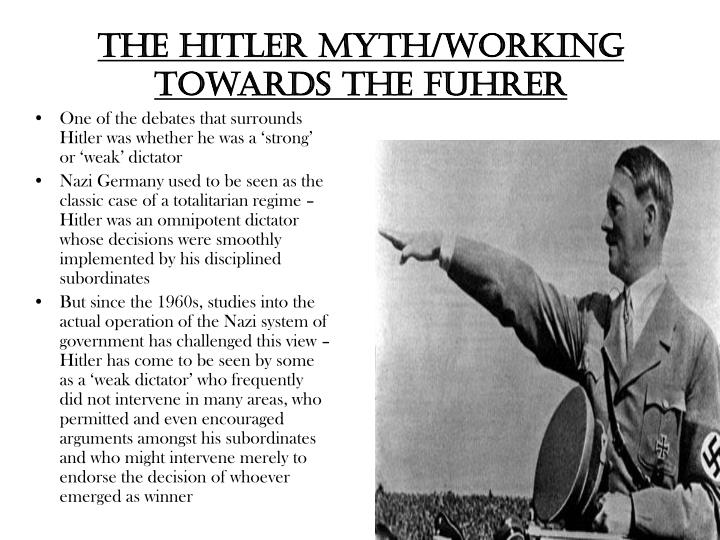 The HITLER MYTH/Working Towards the Fuhrer