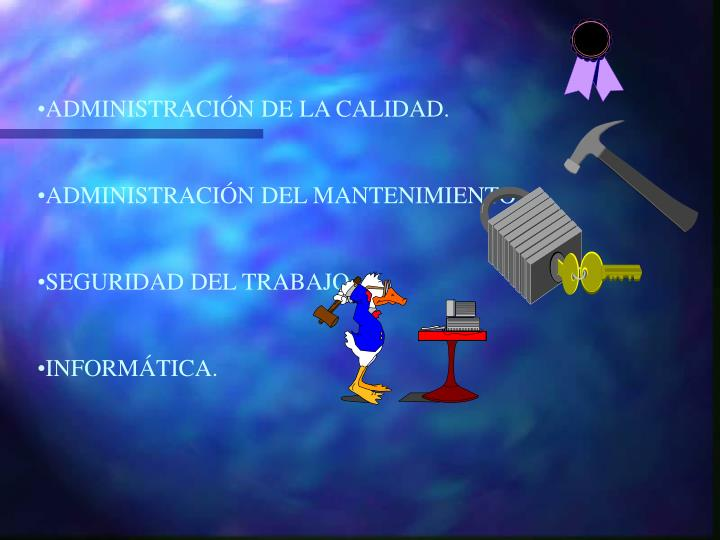 ADMINISTRACIÓN DE LA CALIDAD.