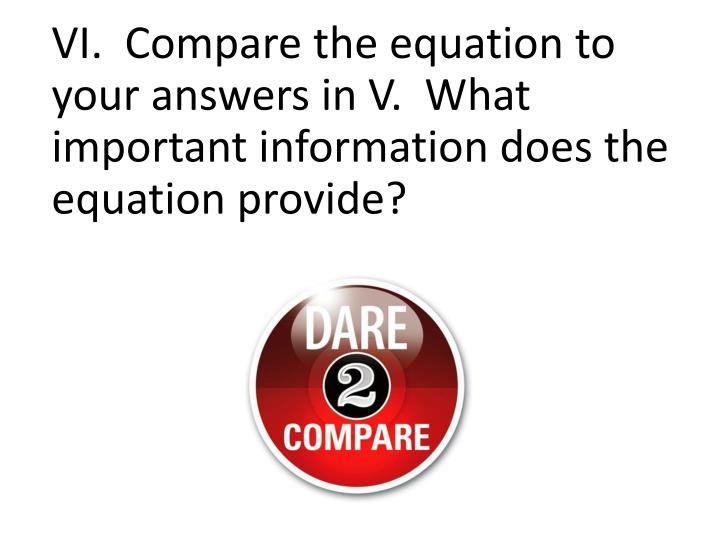 VI.  Compare th