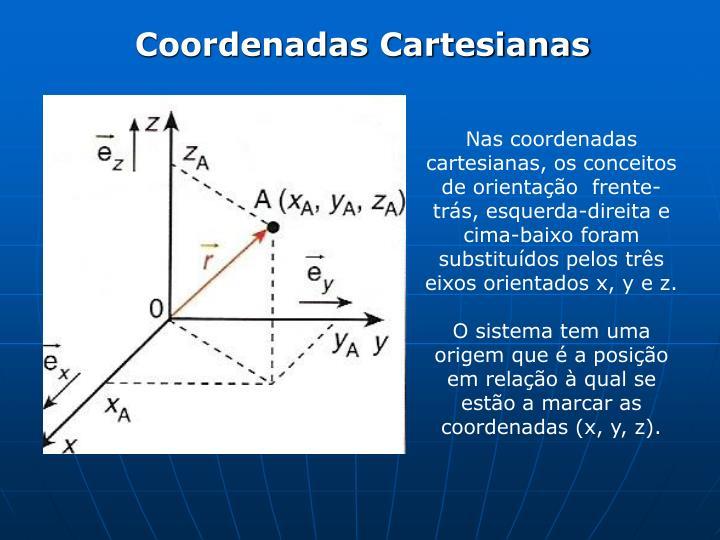 Coordenadas Cartesianas