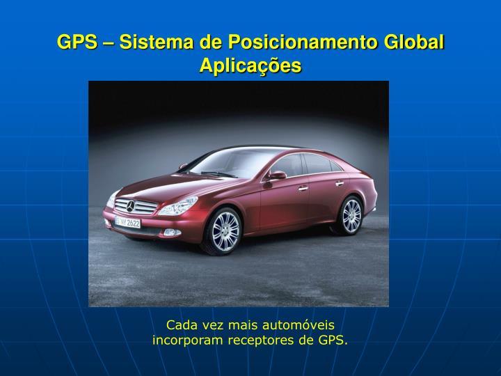 GPS – Sistema de Posicionamento Global