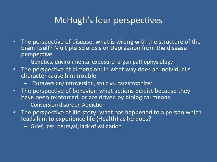 McHugh's four