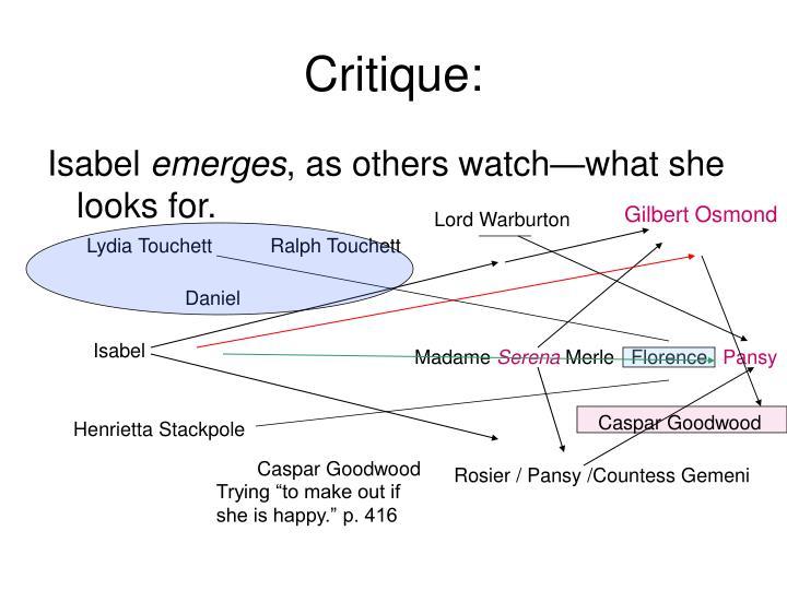 Critique: