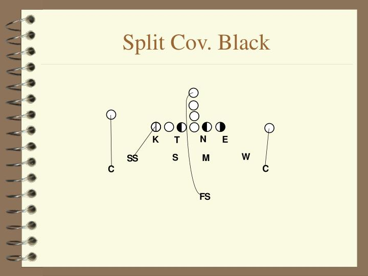 Split Cov. Black