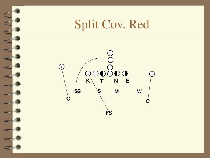 Split Cov. Red