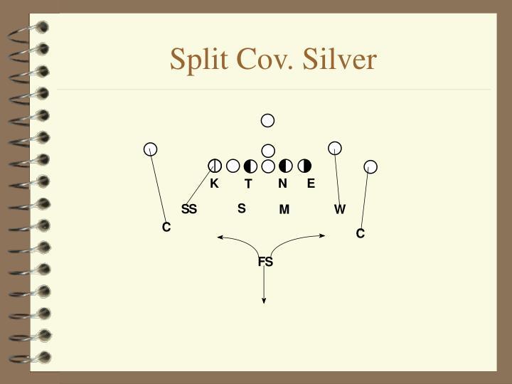 Split Cov. Silver