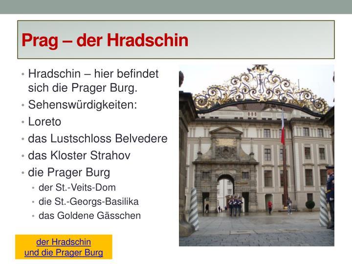 Prag – der Hradschin