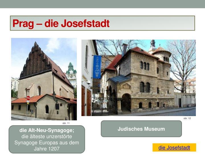 Prag – die Josefstadt