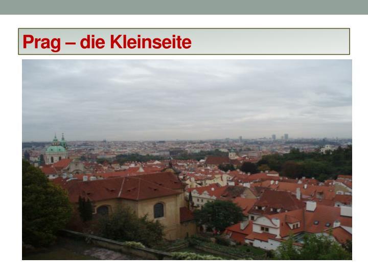 Prag – die Kleinseite