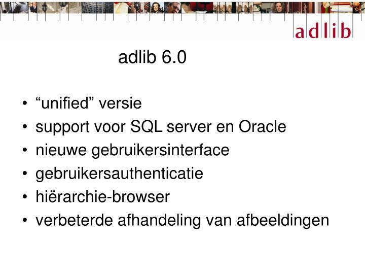 adlib 6.0