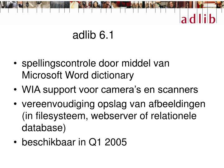 adlib 6.1