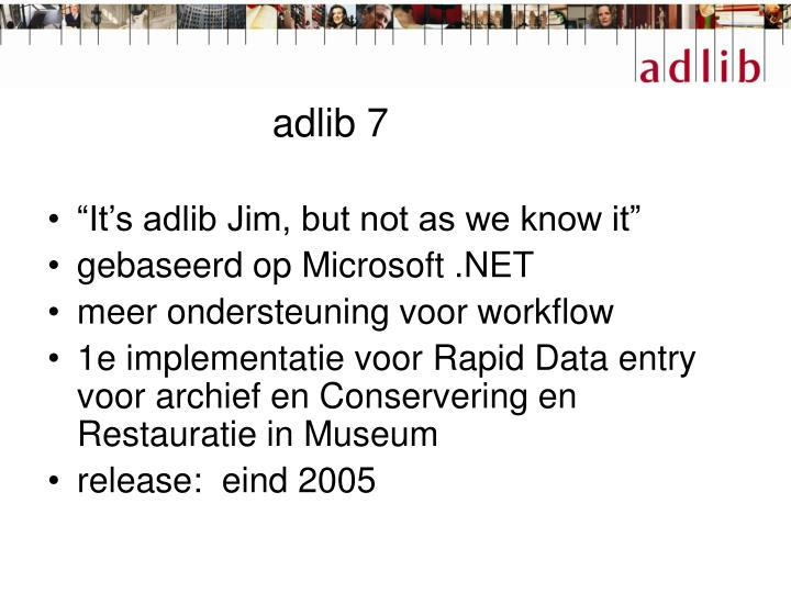 adlib 7