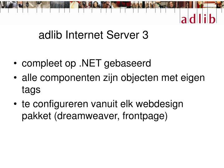 adlib Internet Server 3