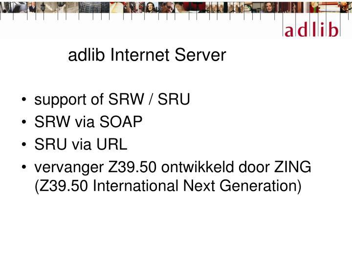 adlib Internet Server
