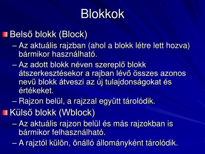 Blokkok