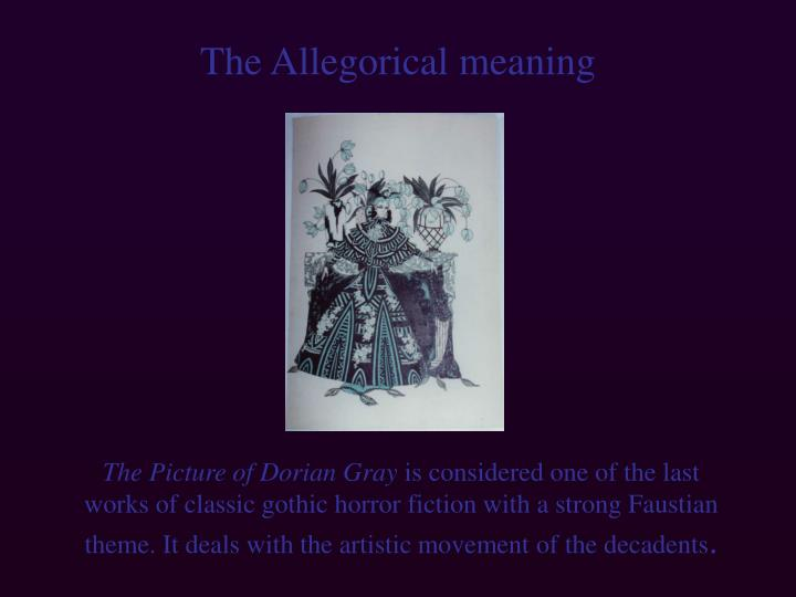 The Allegorical meaning