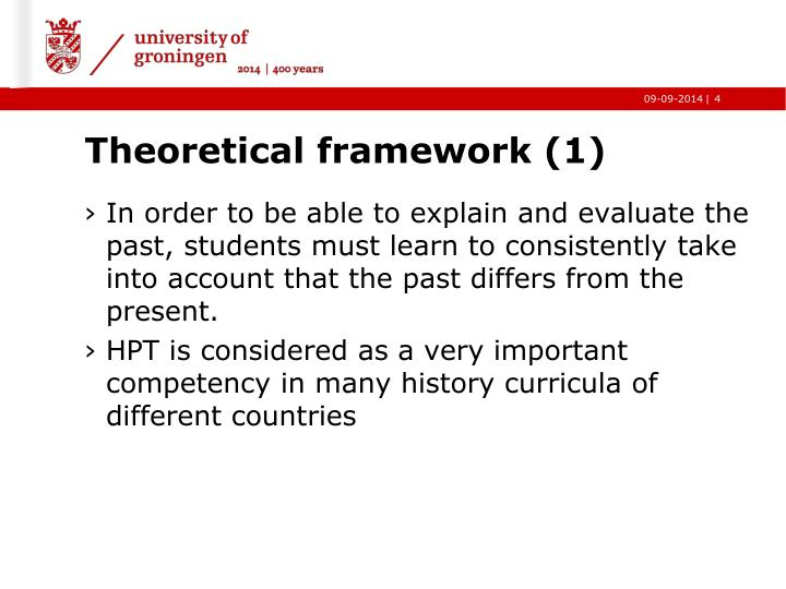 Theoretical framework (1)