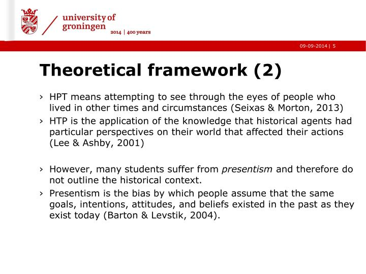 Theoretical framework (2)