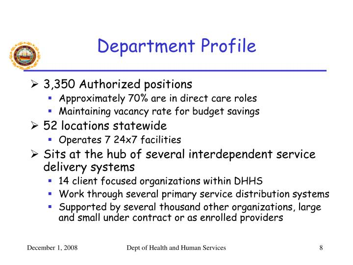 Department Profile