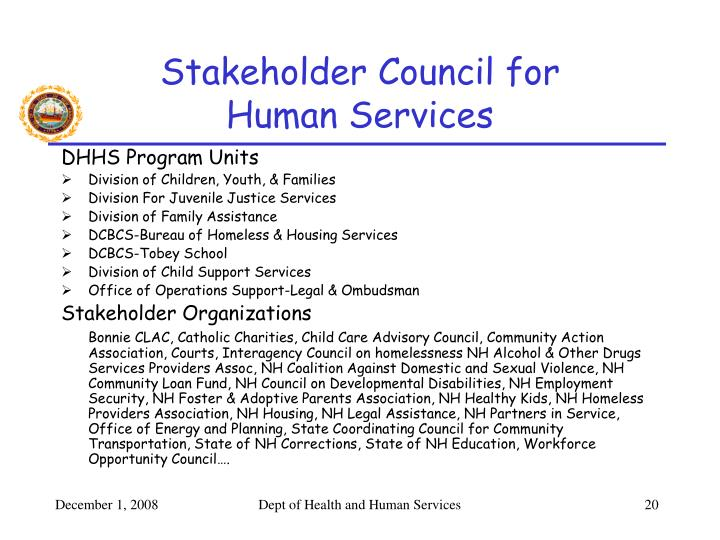 Stakeholder Council for