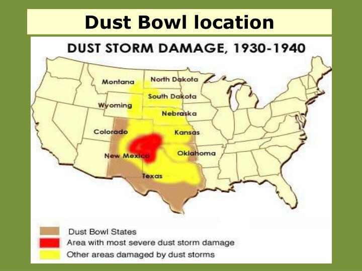 Dust Bowl location