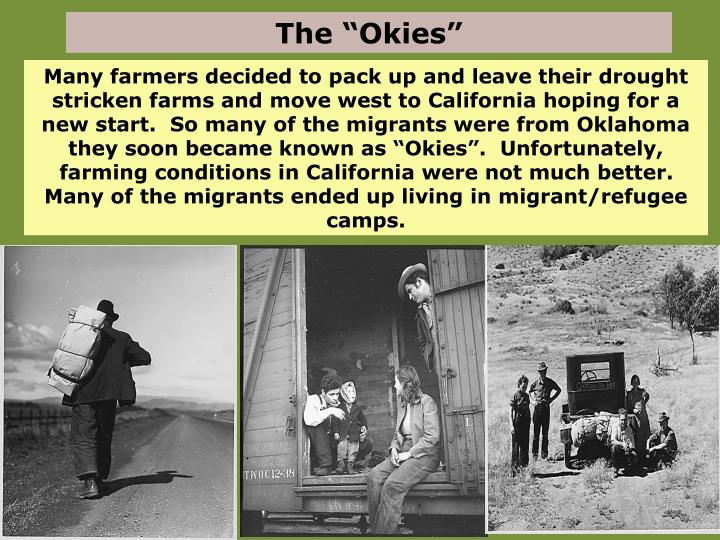 "The ""Okies"""