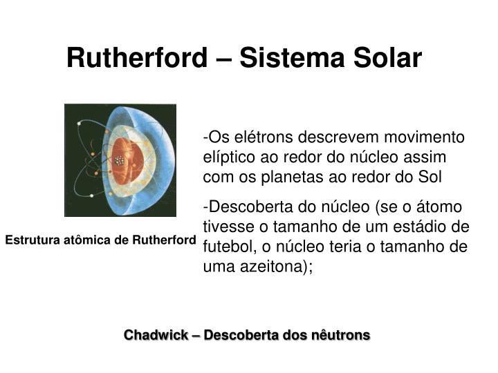 Rutherford – Sistema Solar