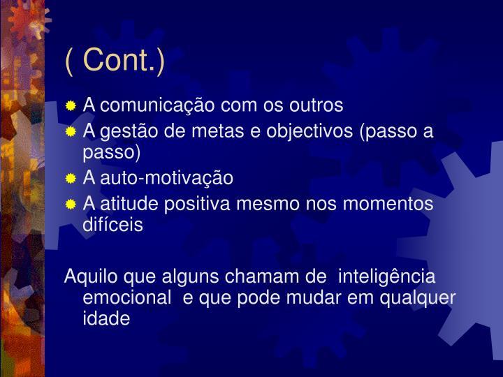 ( Cont.)