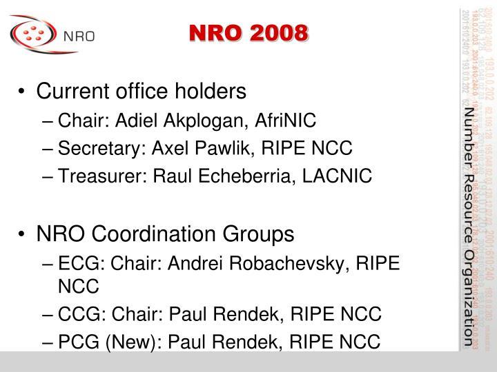 NRO 2008