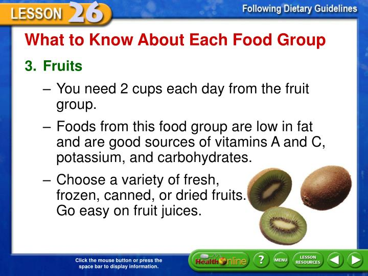 What to Know About Each Food Group