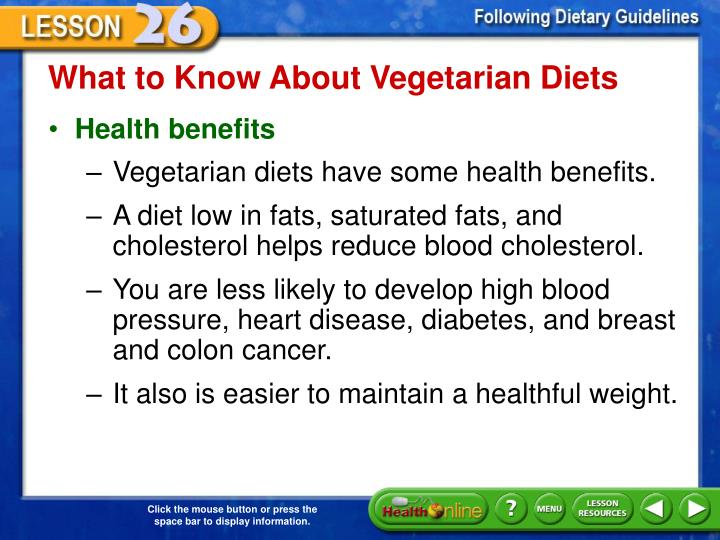 What to Know About Vegetarian Diets