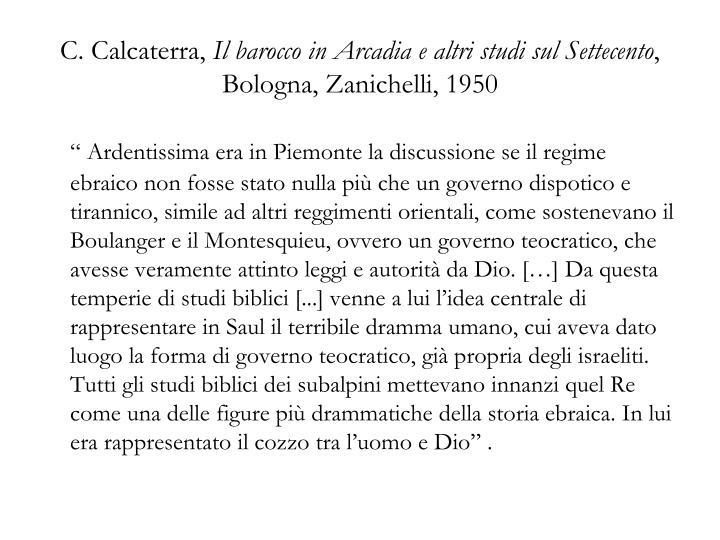 C. Calcaterra,