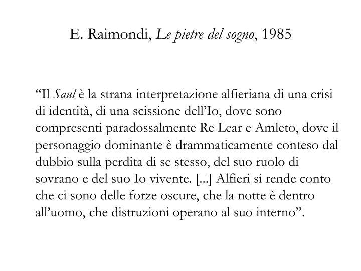 E. Raimondi,