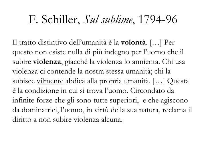 F. Schiller,