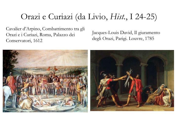 Orazi e Curiazi (da Livio,