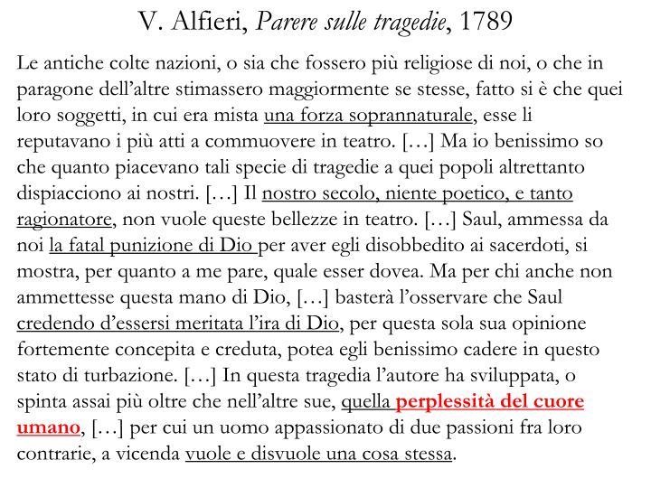 V. Alfieri,