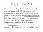 v alfieri vita iv 9