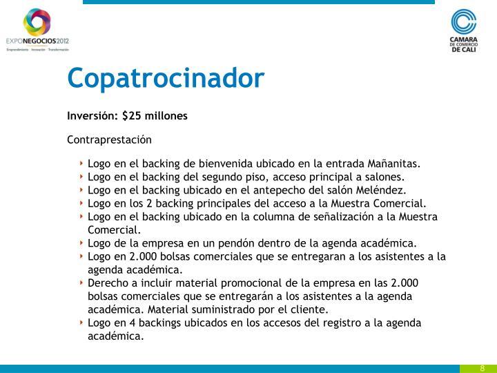 Copatrocinador