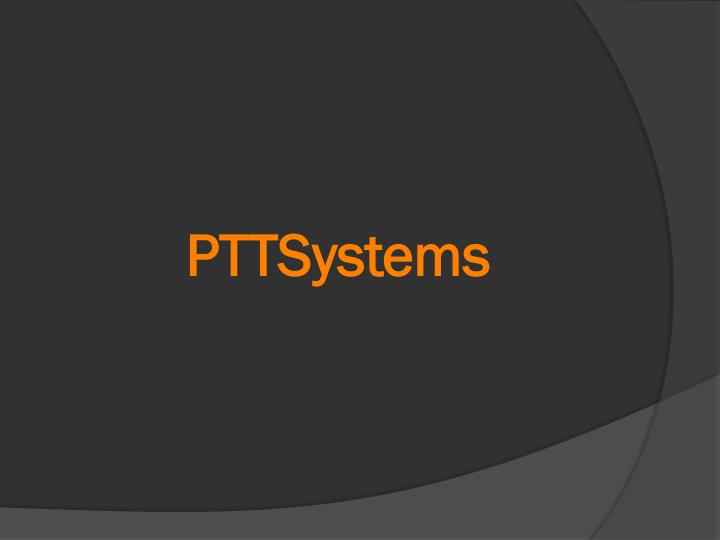 PTTSystems