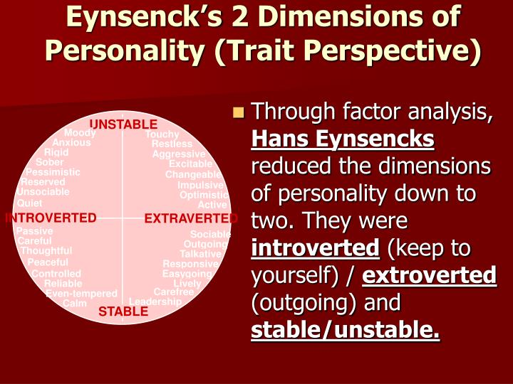 trait theory and brand personality framework The brand personality scale most widely used to-date was developed by jennifer aaker (1997 ), who identified five possible dimensions or ˝sets of human characteristics associated with a brand ˛ (p.