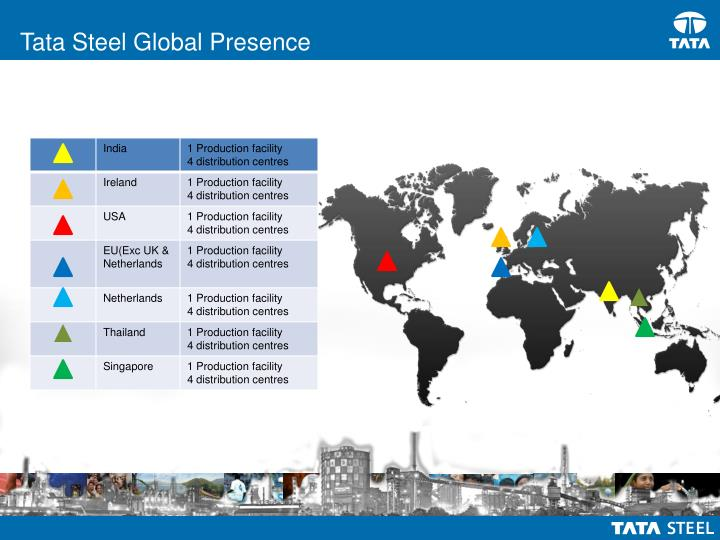 Tata Steel Global Presence